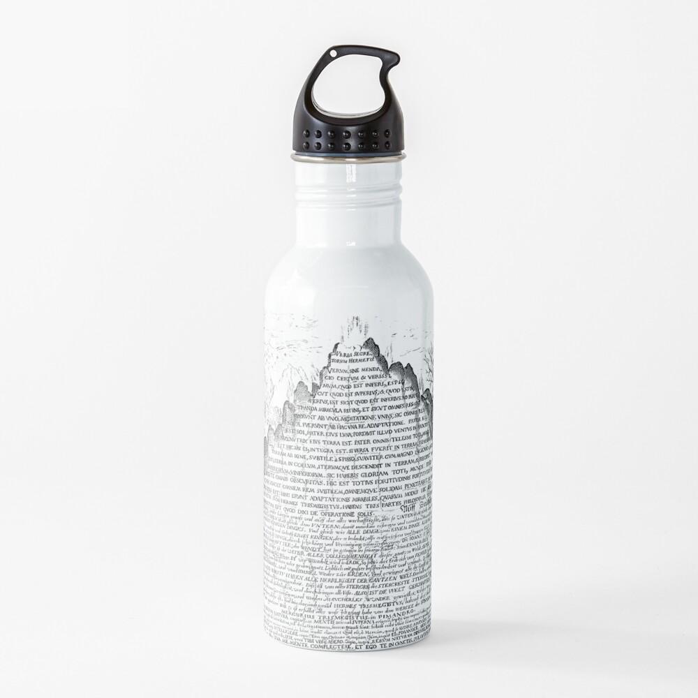 DARK Sic Mundus Creatus Est Water Bottle