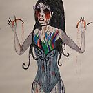 Sarah Brightman... Seems to be missing her eye balls... by Lunalight3
