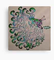A lonely tattoo Canvas Print