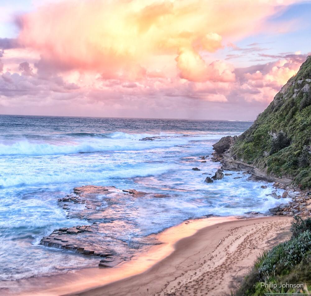 Turimetta Sunset #3 - Turimetta Beach, Sydney Australia - The HDR Experience by Philip Johnson