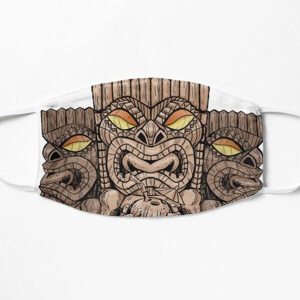 Tiki Trio Flat Mask