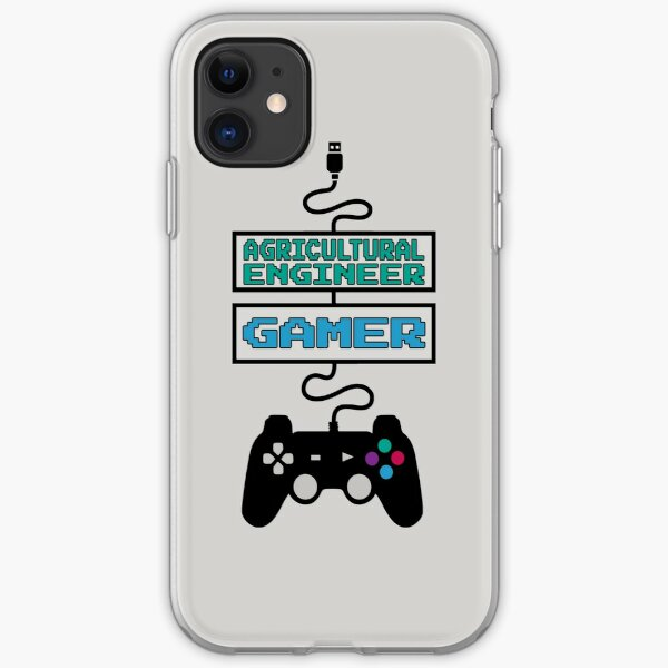 Agricultural Engineer Gamer Design Quote iPhone Soft Case