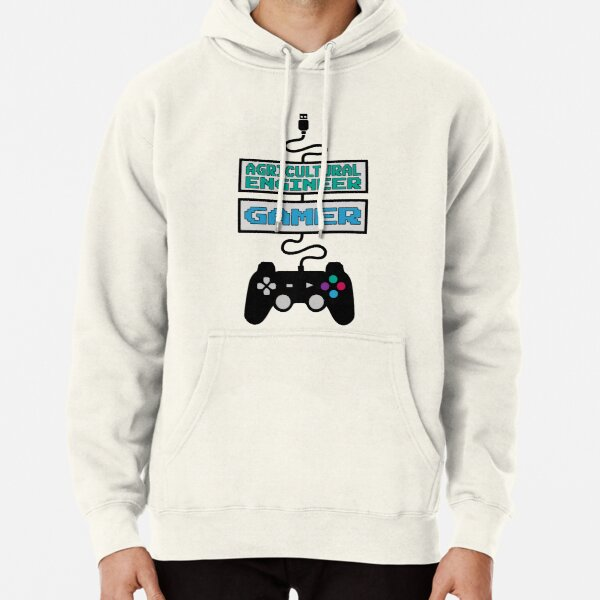Agricultural Engineer Gamer Design Quote Pullover Hoodie