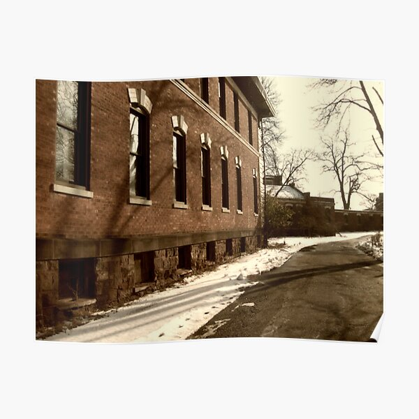 Overbrook Asylum - Walking The Front Path Poster