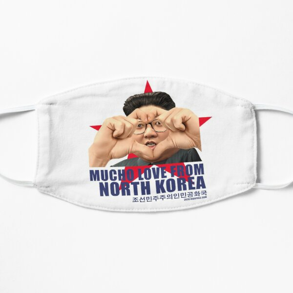Mucho love from North-Korea Mask