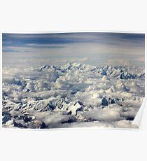 The Himalaya Below Poster