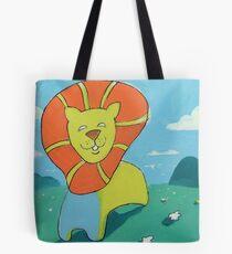 sunshine lion Tote Bag