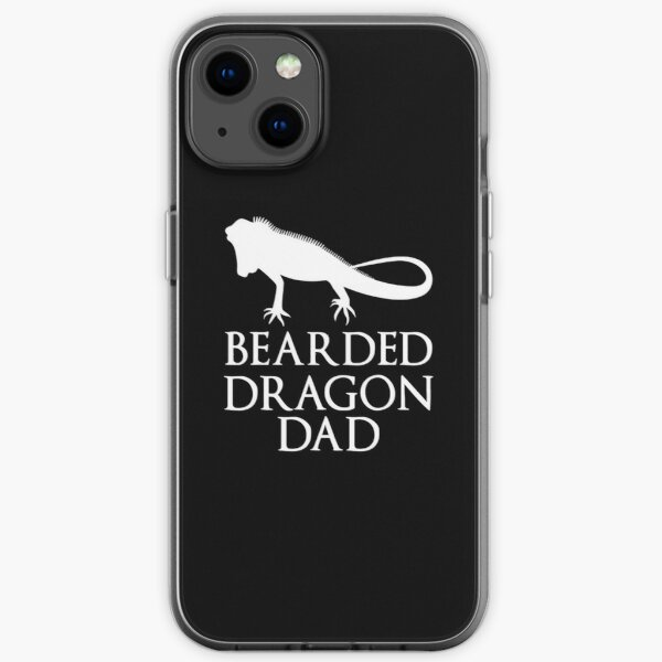 Bearded Dragon Dad iPhone Soft Case