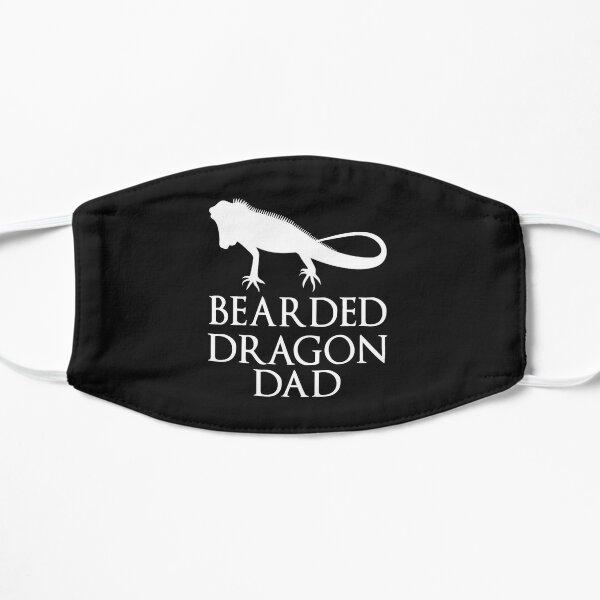 Bearded Dragon Dad Flat Mask