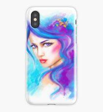 woman fantasy beautiful portrait  iPhone Case/Skin