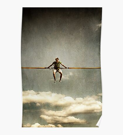 Cloud Jumping Poster
