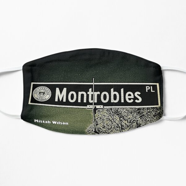 Montrobles Place, San Marino, CA by Mistah Wilson Mask
