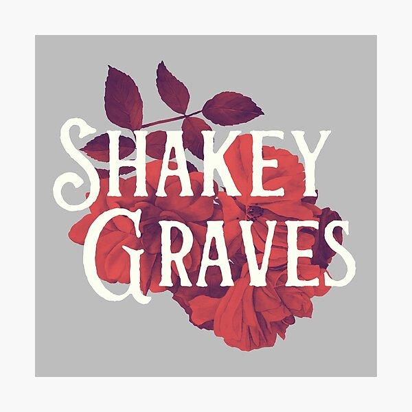 Shakey Graves // Flower  Photographic Print