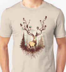 A Rustic Hat Rack Unisex T-Shirt