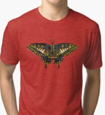 Butterfly Art Tri-blend T-Shirt