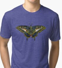 Butterfly Art Tri-blend T-Shirt