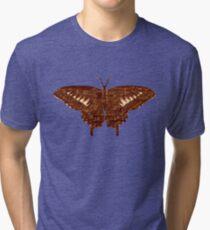 Butterfly Art 3 Tri-blend T-Shirt