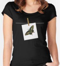 Butterfly Art 5 Women's Fitted Scoop T-Shirt