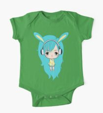 Cute Bunny Character One Piece - Short Sleeve