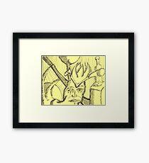 king of the mutants Framed Print