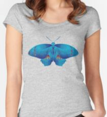 Butterfly art 11 Women's Fitted Scoop T-Shirt