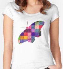Butterfly art 12 Women's Fitted Scoop T-Shirt