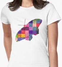 Butterfly art 12 Women's Fitted T-Shirt