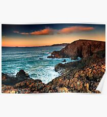 Moonee Headland - Two on the Hill Poster