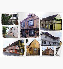 Historical Lavenham Suffolk Poster