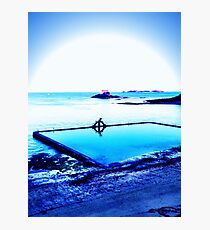 Blue is best Photographic Print