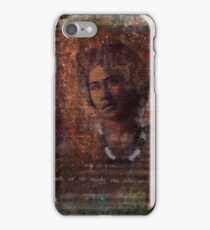 A Woman of Hawaii iPhone Case/Skin