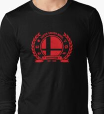 Smash Club (Rot) Langarmshirt
