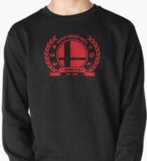 Smash Club (Red) Pullover