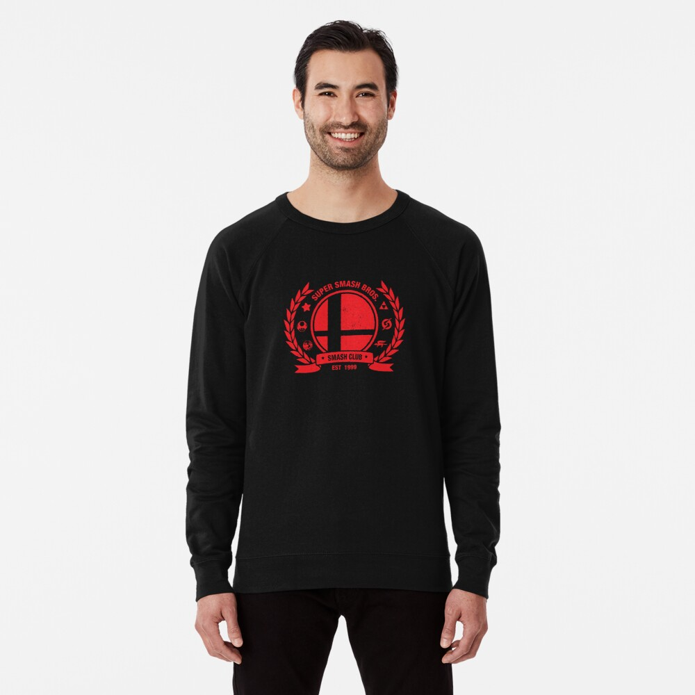 Smash Club (Red) Lightweight Sweatshirt