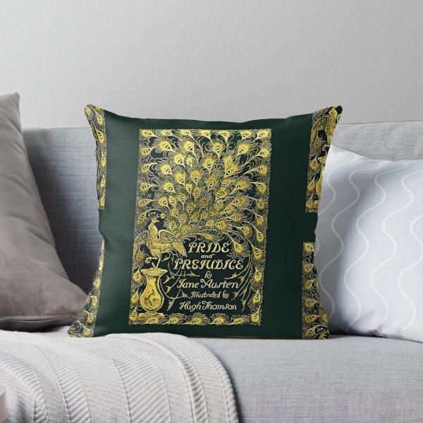 Original Pride and Prejudice Book Cover Throw Pillow
