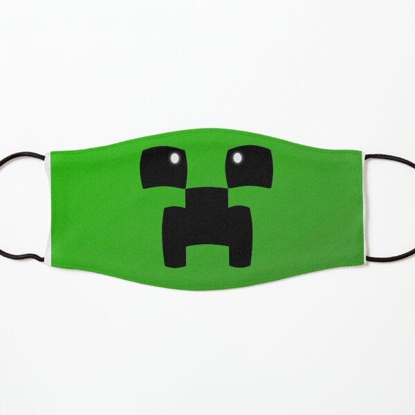 Cute Minecraft Creeper Face Kids Mask