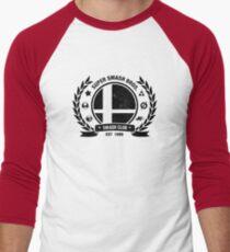 Smash Club (Schwarz) Baseballshirt für Männer