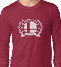 Smash Club (White) Long Sleeve T-Shirt