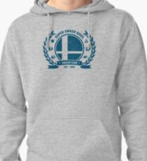 Smash Club (Blue) Pullover Hoodie