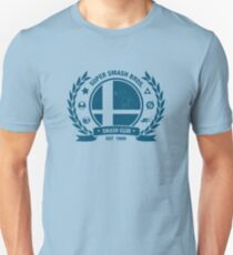 Smash Club (Blue) Unisex T-Shirt