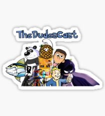 TheDudesCast Logo Sticker