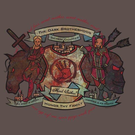 The Dark Brotherhood Forever! | Unisex T-Shirt, a t-shirt ...