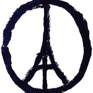 Peace, Pray For Paris by luckynewbie