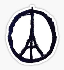 Peace, Pray For Paris Sticker