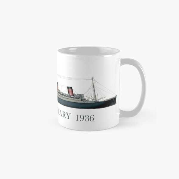 The Queen Mary 1936 portrait Classic Mug