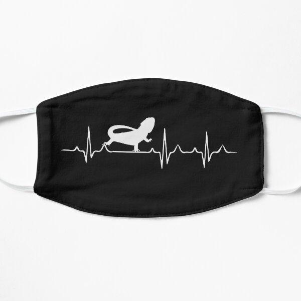 Bearded Dragon Heartbeat Flat Mask