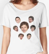 The Holy Seven Forms of Michael Cera Women's Relaxed Fit T-Shirt