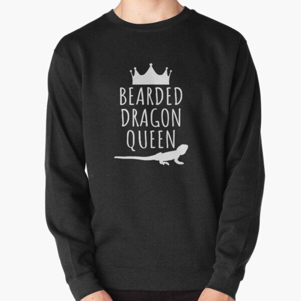Bearded Dragon Queen Pullover Sweatshirt
