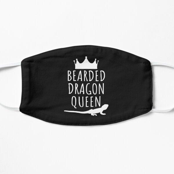 Bearded Dragon Queen Flat Mask