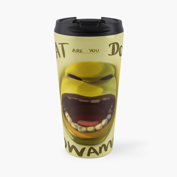 What are you doing in my swamp? Travel Mug